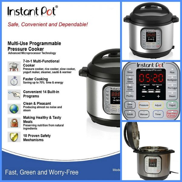7 in 1 Pressure Cooker, Kitchen Appliances