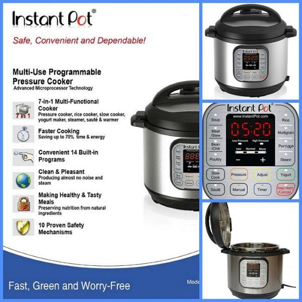 7 in 1 Pressure Cooker, Kitchen Appliances