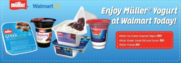 Muller's Yogurt Rollback at Walmart + Coupon! #MullerMoment #Ad