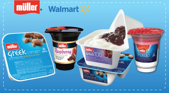 Muller's Yogurt Rollback at Walmart #MullerMoment #Ad