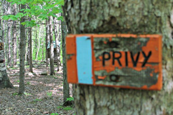 Trapper John's Shelter Privy