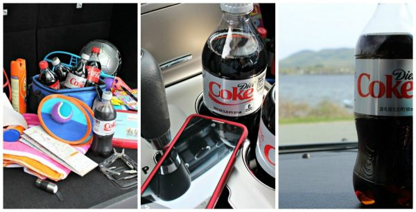 Summer Road Trip Essentials with Coke