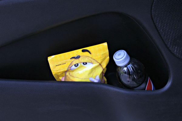 Keep Snacks in your Car Door Pockets