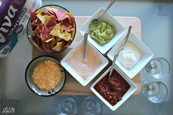 Five Layer Homegating Tortilla Dip