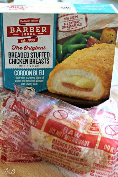 Barber Foods Stuffed Chicken Breast, Cordon Bleu