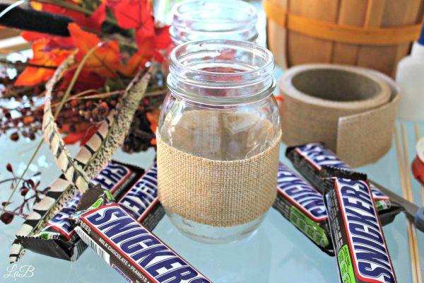 Fall Festive Mason Jar Craft Idea