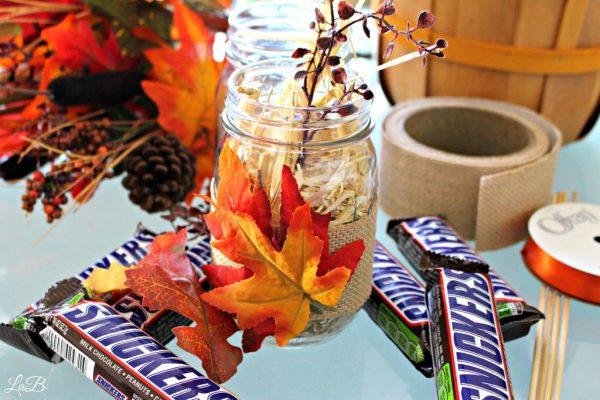 Easy Fall Mason Jar Craft