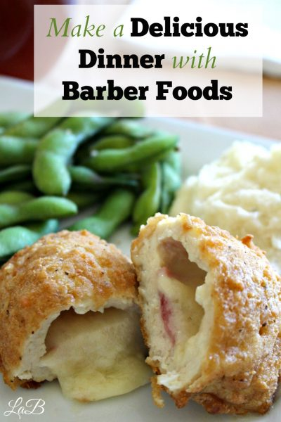 Delicious Dinner with Barber Foods