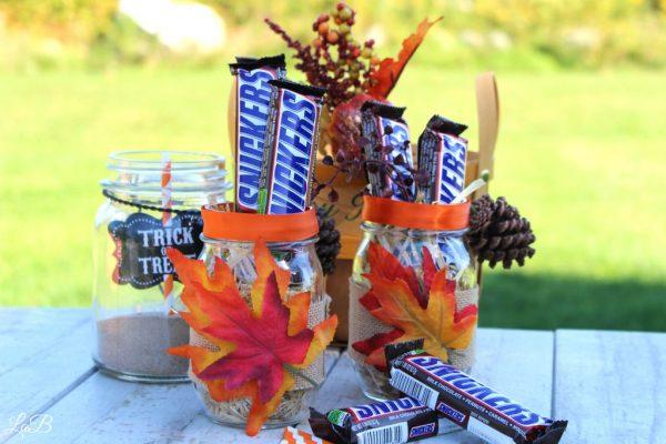 Mason Jar Craft Idea for Fall