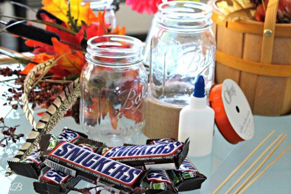 Mason Jar Fall Decorative Snack Cup