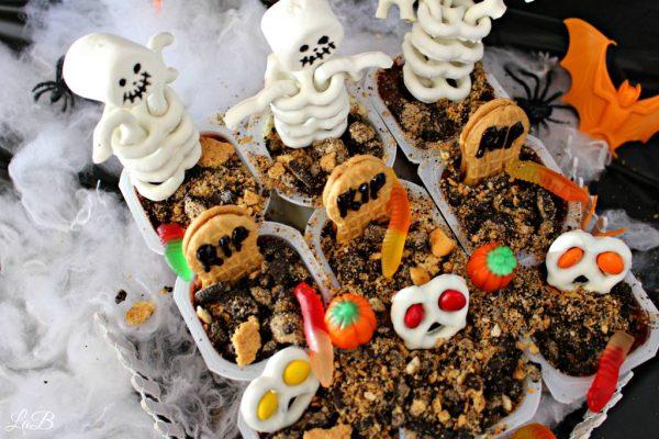 Snack Pack Halloween Graveyard