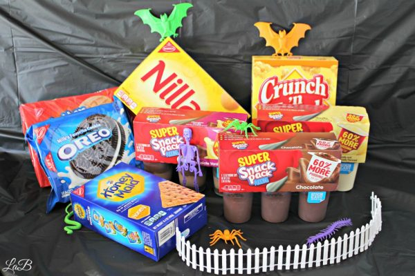 Snack Pack Pudding Cup Graveyard