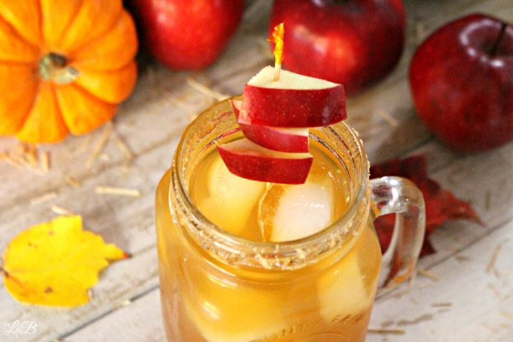 Apple Cider Mocktail Skewers