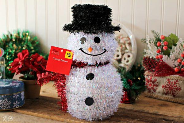 Secret Elves Gift   Snowman Decoration