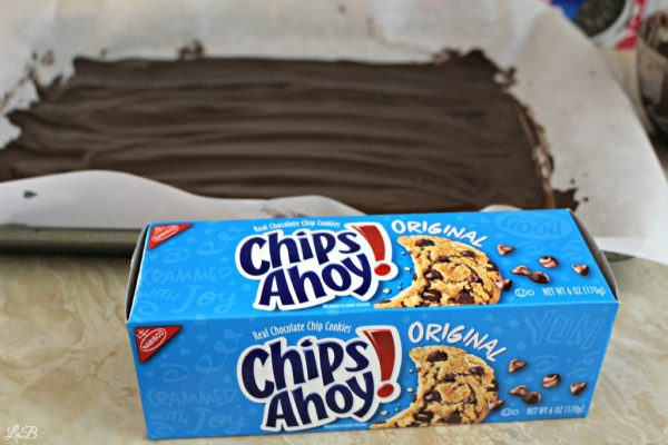 Chips Ahoy Cookie Peppermint Bark