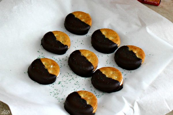 Chocolate Dipped RITZ Crackers