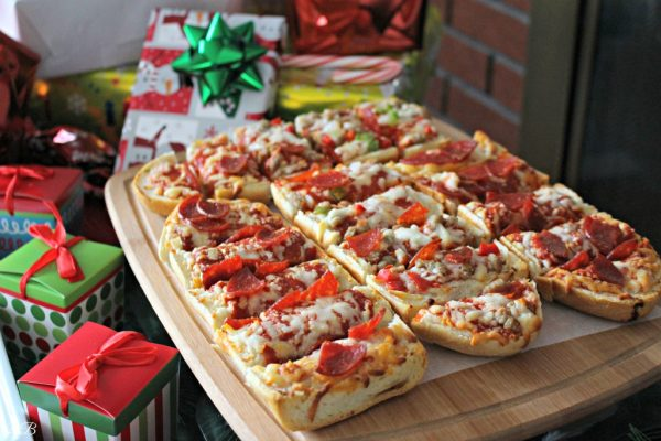 Red Baron Pizza White Elephant Party Gift Exchange