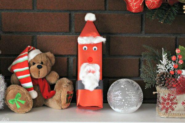 Santa Gift Wrap Idea