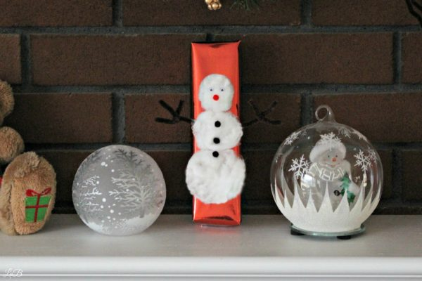 Wrapping Gifts To Look Like Snowmen