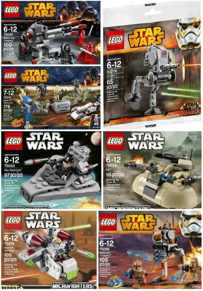 Star Wars LEGO Sets on Sale