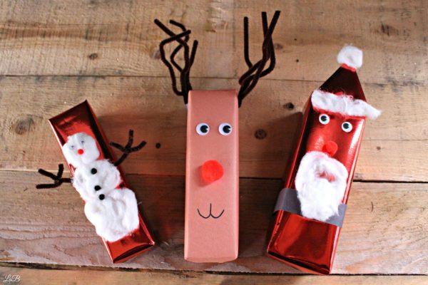 Wrap Gifts like Santa, Reindeer and Snowmen