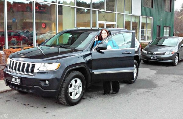 Katie's New Jeep Grand Cherokee