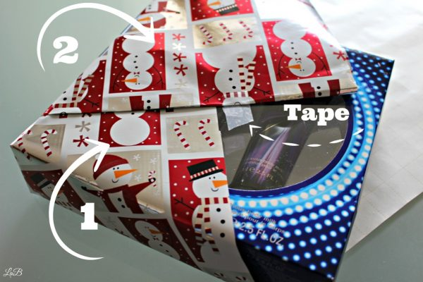 Fast Gift Wrapping Techique