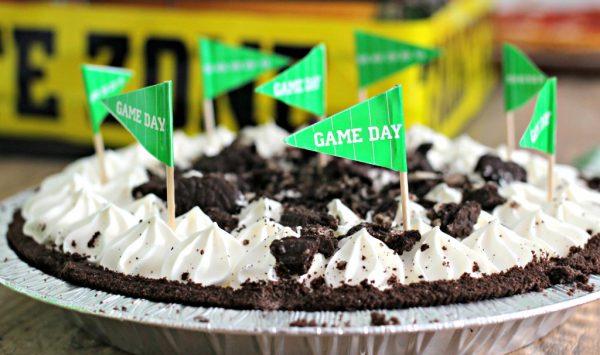 Football Party Dessert Pie