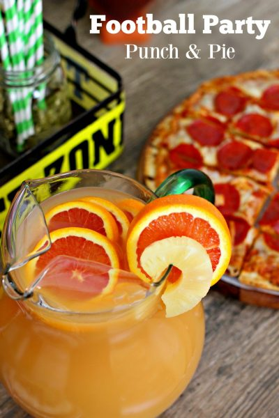Football Party Ideas and Punch Recipe