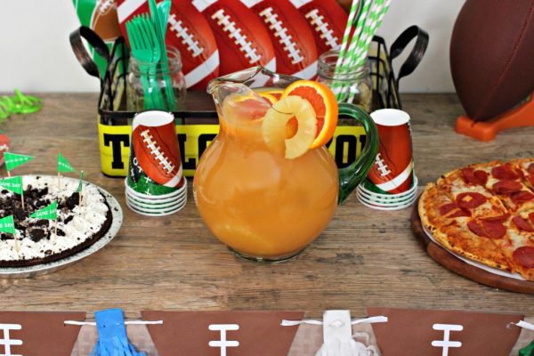 Football Party, Punch, Pizza, and Pie!