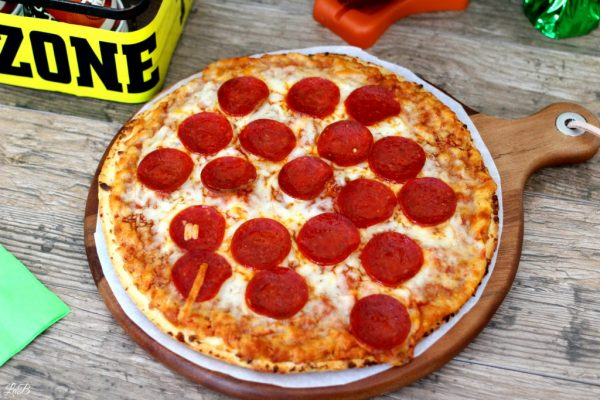 Football Pizza Party with Red Baron Pizza