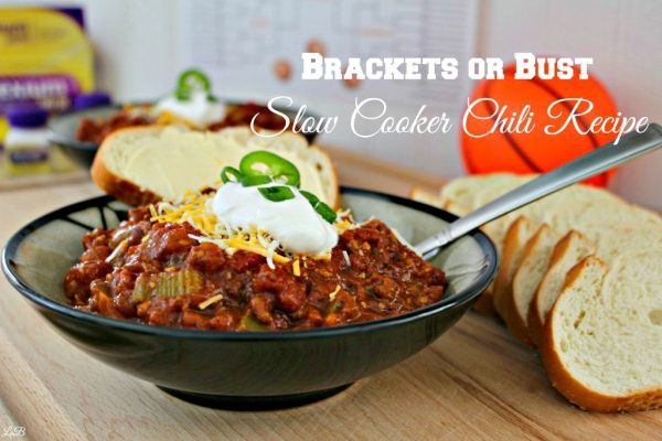 Brackets or Bust Chili Recipe