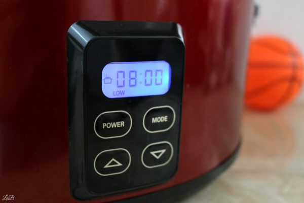 Slow Cooker Timer for Chili