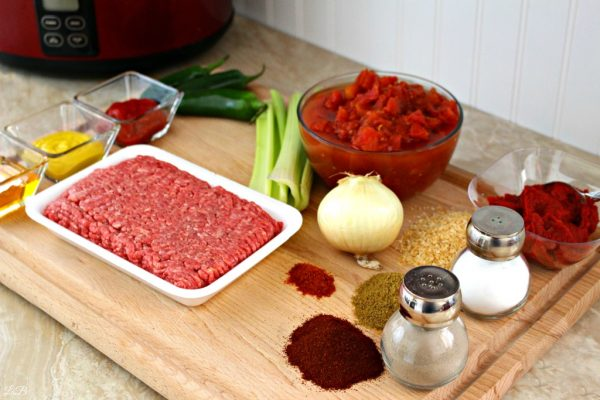 Chili Recipe Ingredients