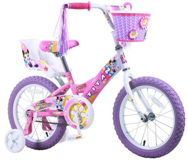 Girls Pink BMX Bicycle