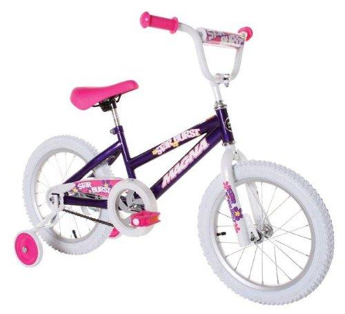 16 inch Girl's Bike with Training Wheels