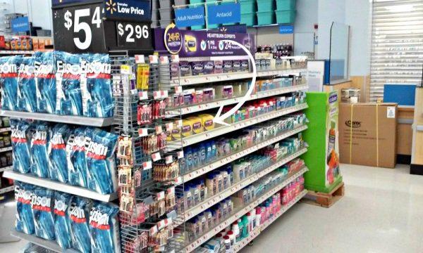 Nexium 24HR at Walmart Pharmacy Department