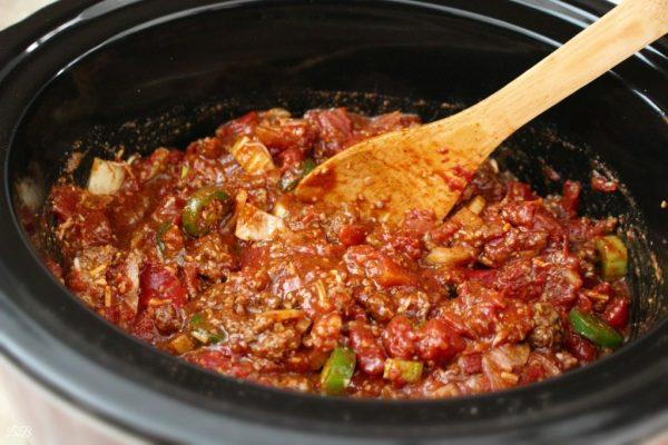 Slow Cooker Crock Pot Chili Recipe