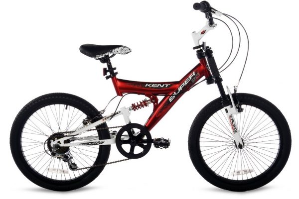 Boy's 20 inch Bicycle with Suspension and Gears