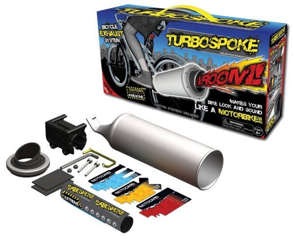 Turbo Spoke Bike Muffler Exhaust System