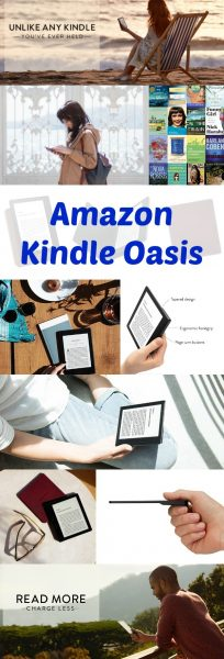 Kindle Oasis from Amazon