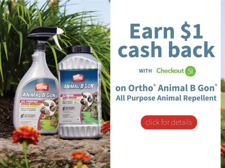 Animal B Gon Animal Repellent Deal