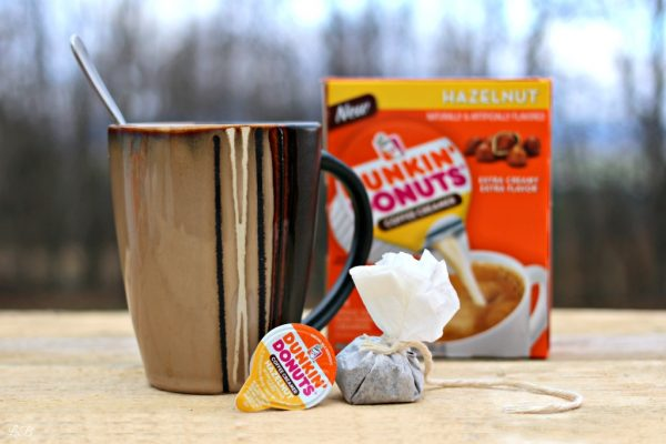 Dunkin' Donut's Coffee While Camping