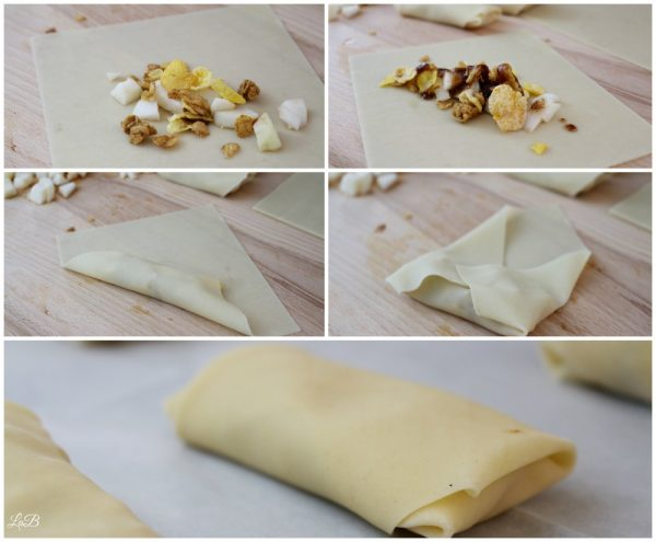 Learn how to wrap an egg roll