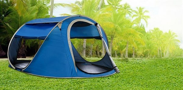 Camping Pop Up Tent - No Assembly Required
