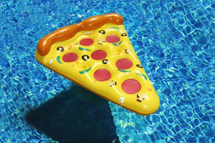 Pizza Shaped Pool Floating Raft