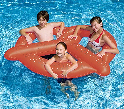 Pretzel Shaped Pool Float