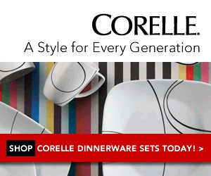 Stylish Dinnerware Sets by Corelle
