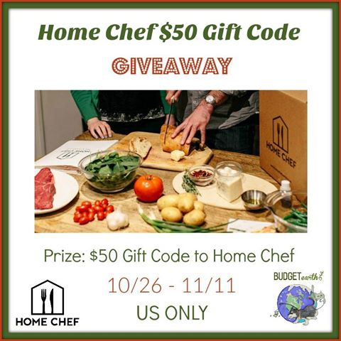 Home Chef Giveaway