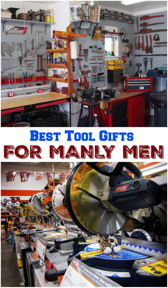 These are the best tool gifts for men. If you're shopping for tools, check out these easy gift ideas!